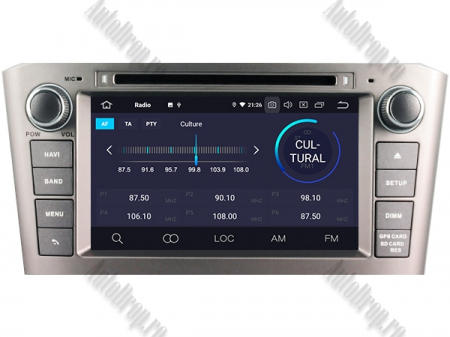 NAVIGATIE TOYOTA AVENSIS (2005-2008), ANDROID 10, Octacore|PX5|/ 4GB RAM + 64GB ROM cu DVD, 7 Inch - AD-BGWAVS1P5-S3