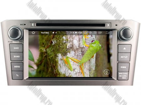 NAVIGATIE TOYOTA AVENSIS (2005-2008), ANDROID 10, Octacore|PX5|/ 4GB RAM + 64GB ROM cu DVD, 7 Inch - AD-BGWAVS1P5-S8