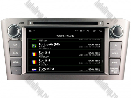 NAVIGATIE TOYOTA AVENSIS (2005-2008), ANDROID 10, Octacore|PX5|/ 4GB RAM + 64GB ROM cu DVD, 7 Inch - AD-BGWAVS1P5-S7