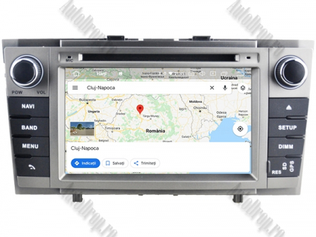NAVIGATIE TOYOTA AVENSIS (2008-2013), ANDROID 9, Octacore|PX5|/ 4GB RAM + 64GB ROM cu DVD, 7 Inch - AD-BGWAVS2P5-S14