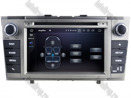 NAVIGATIE TOYOTA AVENSIS (2008-2013), ANDROID 9, Octacore|PX5|/ 4GB RAM + 64GB ROM cu DVD, 7 Inch - AD-BGWAVS2P5-S5