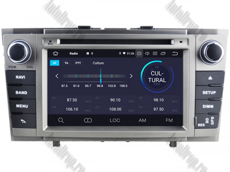 NAVIGATIE TOYOTA AVENSIS (2008-2013), ANDROID 9, Octacore|PX5|/ 4GB RAM + 64GB ROM cu DVD, 7 Inch - AD-BGWAVS2P5-S3