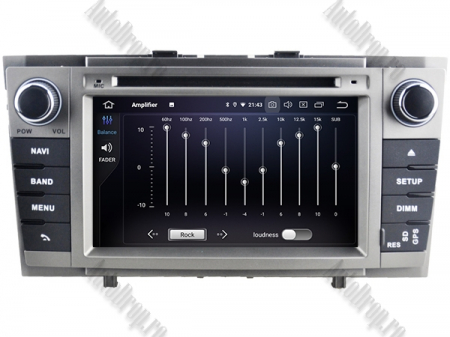 NAVIGATIE TOYOTA AVENSIS (2008-2013), ANDROID 9, Octacore|PX5|/ 4GB RAM + 64GB ROM cu DVD, 7 Inch - AD-BGWAVS2P5-S8