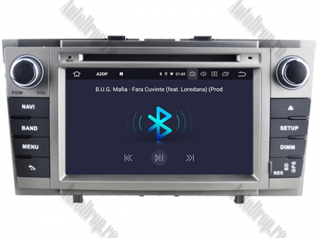 NAVIGATIE TOYOTA AVENSIS (2008-2013), ANDROID 9, Octacore|PX5|/ 4GB RAM + 64GB ROM cu DVD, 7 Inch - AD-BGWAVS2P5-S4