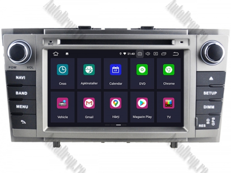 NAVIGATIE TOYOTA AVENSIS (2008-2013), ANDROID 9, Octacore|PX5|/ 4GB RAM + 64GB ROM cu DVD, 7 Inch - AD-BGWAVS2P5-S2