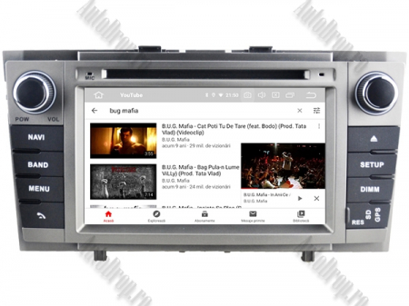 NAVIGATIE TOYOTA AVENSIS (2008-2013), ANDROID 9, Octacore|PX5|/ 4GB RAM + 64GB ROM cu DVD, 7 Inch - AD-BGWAVS2P5-S11