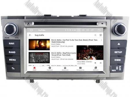 NAVIGATIE TOYOTA AVENSIS (2008-2013), ANDROID 10, Quadcore PX30 / 2GB RAM + 16GB ROM cu DVD, 7 Inch - AD-BGWAVS2P3-S11
