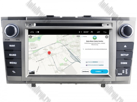 NAVIGATIE TOYOTA AVENSIS (2008-2013), ANDROID 9, Octacore|PX5|/ 4GB RAM + 64GB ROM cu DVD, 7 Inch - AD-BGWAVS2P5-S12