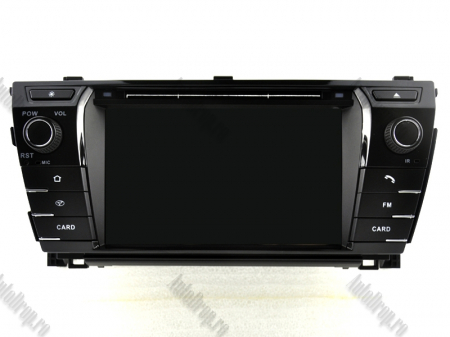 NAVIGATIE TOYOTA Corolla 2014, ANDROID 9, Octacore|PX5|/ 4GB RAM + 64GB ROM cu DVD, 7 Inch - AD-BGWCOROLLA3P516