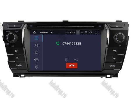NAVIGATIE TOYOTA Corolla 2014, ANDROID 9, Octacore|PX5|/ 4GB RAM + 64GB ROM cu DVD, 7 Inch - AD-BGWCOROLLA3P55