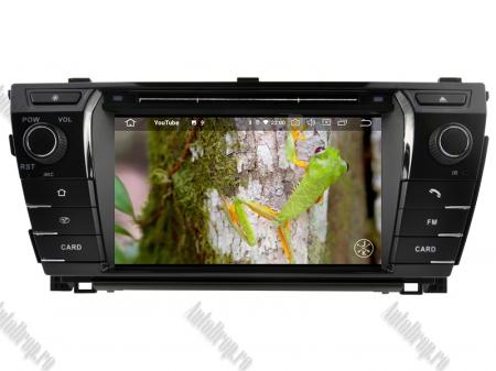 NAVIGATIE TOYOTA Corolla 2014, ANDROID 9, Quadcore|PX30|/ 2GB RAM + 16GB ROM cu DVD, 7 Inch - AD-BGWCOROLLA3P39