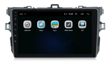 Navigatie Android Toyota Corolla 1+16GB | AutoDrop.ro [4]