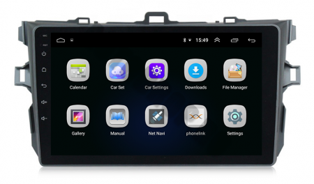 Navigatie Android Toyota Corolla 1+16GB | AutoDrop.ro [3]