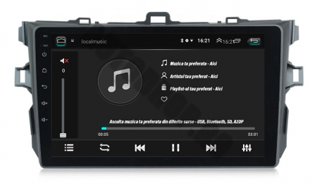Navigatie Android Toyota Corolla 1+16GB | AutoDrop.ro [7]
