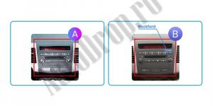 Navigatie Mitstubishi Outlander / Peugeot 4007 / Citroen C-Crosser, Android 9.1, QUADCORE|MTK| / 2GB RAM + 32 ROM, 9 Inch - AD-BGPOUTLANDER9MTK2GB20