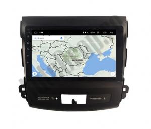 Navigatie Mitstubishi Outlander / Peugeot 4007 / Citroen C-Crosser, Android 9.1, QUADCORE|MTK| / 2GB RAM + 32 ROM, 9 Inch - AD-BGPOUTLANDER9MTK2GB7