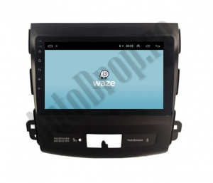 Navigatie Mitstubishi Outlander / Peugeot 4007 / Citroen C-Crosser, Android 9.1, QUADCORE|MTK| / 2GB RAM + 32 ROM, 9 Inch - AD-BGPOUTLANDER9MTK2GB9