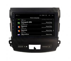 Navigatie Mitstubishi Outlander / Peugeot 4007 / Citroen C-Crosser, Android 9.1, QUADCORE|MTK| / 2GB RAM + 32 ROM, 9 Inch - AD-BGPOUTLANDER9MTK2GB12