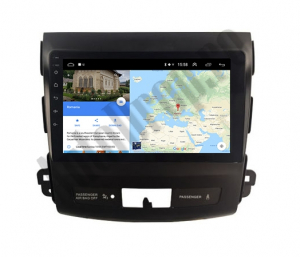 Navigatie Mitstubishi Outlander / Peugeot 4007 / Citroen C-Crosser, Android 9.1, QUADCORE|MTK| / 2GB RAM + 32 ROM, 9 Inch - AD-BGPOUTLANDER9MTK2GB8