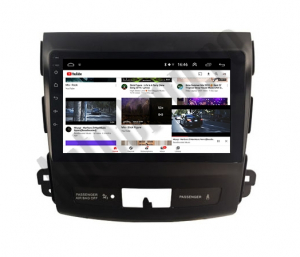 Navigatie Mitstubishi Outlander / Peugeot 4007 / Citroen C-Crosser, Android 9.1, QUADCORE|MTK| / 2GB RAM + 32 ROM, 9 Inch - AD-BGPOUTLANDER9MTK2GB11