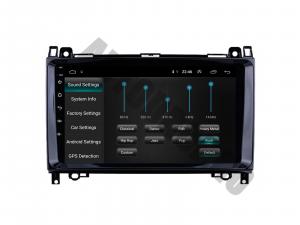 Navigatie Mercedes Benz Sprinter, Viano, Vito, A/B Class, Crafter, Android 9.1, QUADCORE|MTK| / 1GB RAM + 16 ROM, 9 Inch - AD-BGPMBSPR9MTK1GB4
