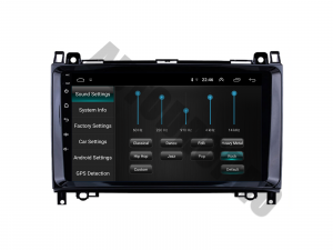 Navigatie Mercedes Benz Sprinter, Viano, Vito, A/B Class, Crafter, Android 9.1, QUADCORE|MTK| / 2GB RAM + 32 ROM, 9 Inch - AD-BGPMBSPR9MTK2GB4