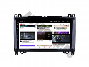 Navigatie Mercedes Benz Sprinter, Viano, Vito, A/B Class, Crafter, Android 9.1, QUADCORE MTK  / 2GB RAM + 32 ROM, 9 Inch - AD-BGPMBSPR9MTK2GB9