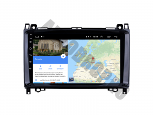 Navigatie Mercedes Benz Sprinter, Viano, Vito, A/B Class, Crafter, Android 9.1, QUADCORE|MTK| / 2GB RAM + 32 ROM, 9 Inch - AD-BGPMBSPR9MTK2GB11