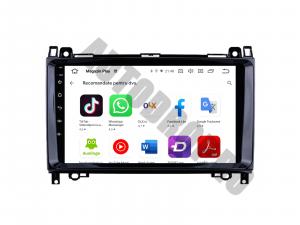 Navigatie Mercedes Benz Sprinter, Viano, Vito, A/B Class, Crafter, Android 9.1, QUADCORE|MTK| / 1GB RAM + 16 ROM, 9 Inch - AD-BGPMBSPR9MTK1GB8