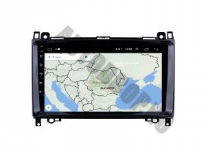 Navigatie Mercedes Benz Sprinter, Viano, Vito, A/B Class, Crafter, Android 9.1, QUADCORE|MTK| / 1GB RAM + 16 ROM, 9 Inch - AD-BGPMBSPR9MTK1GB12