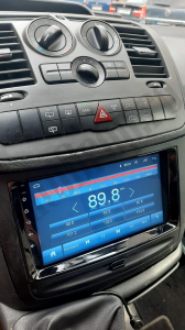 Navigatie Mercedes Benz Sprinter, Viano, Vito, A/B Class, Crafter, Android 9.1, QUADCORE|MTK| / 2GB RAM + 32 ROM, 9 Inch - AD-BGPMBSPR9MTK2GB17