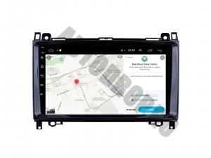 Navigatie Mercedes Benz Sprinter, Viano, Vito, A/B Class, Crafter, Android 9.1, QUADCORE|MTK| / 1GB RAM + 16 ROM, 9 Inch - AD-BGPMBSPR9MTK1GB7