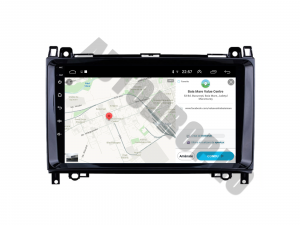 Navigatie Mercedes Benz Sprinter, Viano, Vito, A/B Class, Crafter, Android 9.1, QUADCORE|MTK| / 2GB RAM + 32 ROM, 9 Inch - AD-BGPMBSPR9MTK2GB7