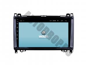Navigatie Mercedes Benz Sprinter, Viano, Vito, A/B Class, Crafter, Android 9.1, QUADCORE|MTK| / 1GB RAM + 16 ROM, 9 Inch - AD-BGPMBSPR9MTK1GB10
