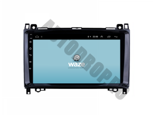 Navigatie Mercedes Benz Sprinter, Viano, Vito, A/B Class, Crafter, Android 9.1, QUADCORE|MTK| / 2GB RAM + 32 ROM, 9 Inch - AD-BGPMBSPR9MTK2GB10