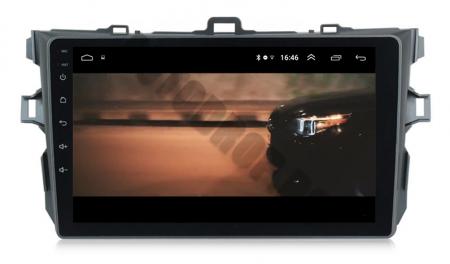 Navigatie Toyota Corolla 2007-2013, Android 9.1, QUADCORE MTK  / 2GB RAM + 32 ROM, 9 Inch - AD-BGPCOROLLAMTK2GB15