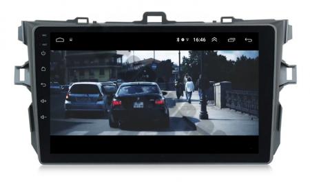 Navigatie Toyota Corolla 2007-2013, Android 9.1, QUADCORE MTK  / 2GB RAM + 32 ROM, 9 Inch - AD-BGPCOROLLAMTK2GB17