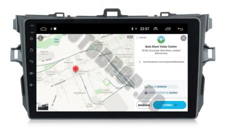 Navigatie Toyota Corolla 2007-2013, Android 9.1, QUADCORE MTK  / 2GB RAM + 32 ROM, 9 Inch - AD-BGPCOROLLAMTK2GB9