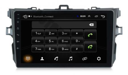 Navigatie Toyota Corolla 2007-2013, Android 9.1, QUADCORE MTK  / 2GB RAM + 32 ROM, 9 Inch - AD-BGPCOROLLAMTK2GB6