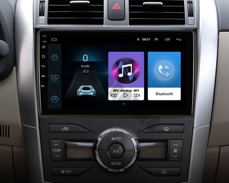 Navigatie Toyota Corolla 2007-2013, Android 9.1, QUADCORE|MTK| / 2GB RAM + 32 ROM, 9 Inch - AD-BGPCOROLLAMTK2GB22