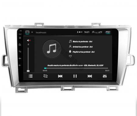 Navigatie Toyota Prius (2009-2014), Android 9.1, QUADCORE|MTK| / 2GB RAM + 32GB ROM, 9 Inch - AD-BGPPRS1MTK2GB12