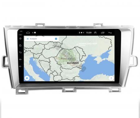 Navigatie Toyota Prius (2009-2014), Android 9.1, QUADCORE|MTK| / 2GB RAM + 32GB ROM, 9 Inch - AD-BGPPRS1MTK2GB10