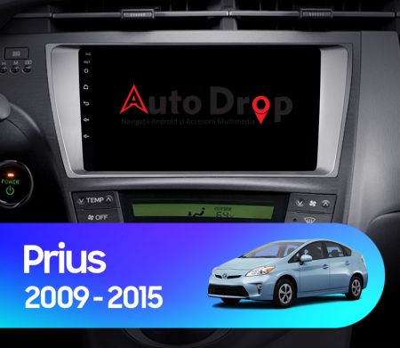 Navigatie Toyota Prius (2009-2014), Android 9.1, QUADCORE|MTK| / 2GB RAM + 32GB ROM, 9 Inch - AD-BGPPRS1MTK2GB14