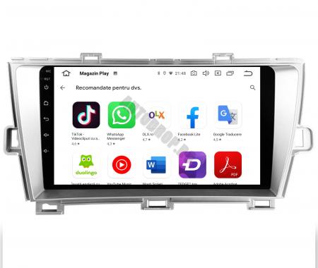 Navigatie Toyota Prius (2009-2014), Android 9.1, QUADCORE|MTK| / 2GB RAM + 32GB ROM, 9 Inch - AD-BGPPRS1MTK2GB7