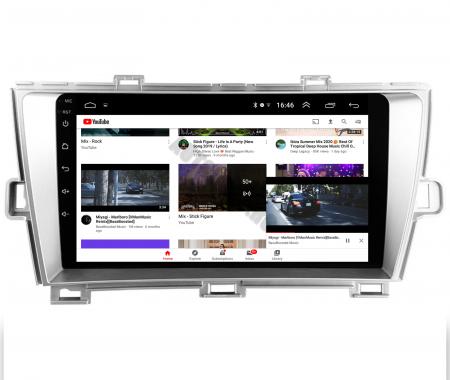 Navigatie Toyota Prius (2009-2014), Android 9.1, QUADCORE|MTK| / 2GB RAM + 32GB ROM, 9 Inch - AD-BGPPRS1MTK2GB6