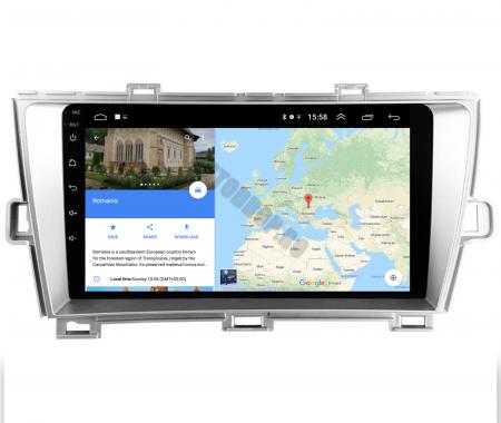 Navigatie Toyota Prius (2009-2014), Android 9.1, QUADCORE|MTK| / 2GB RAM + 32GB ROM, 9 Inch - AD-BGPPRS1MTK2GB11