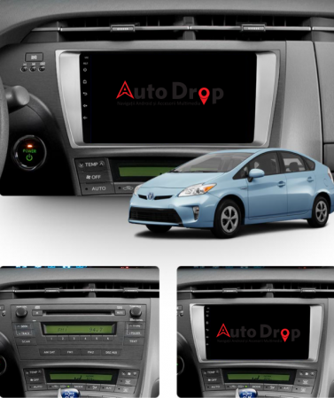 Navigatie Toyota Prius (2009-2014), Android 9.1, QUADCORE|MTK| / 2GB RAM + 32GB ROM, 9 Inch - AD-BGPPRS1MTK2GB13
