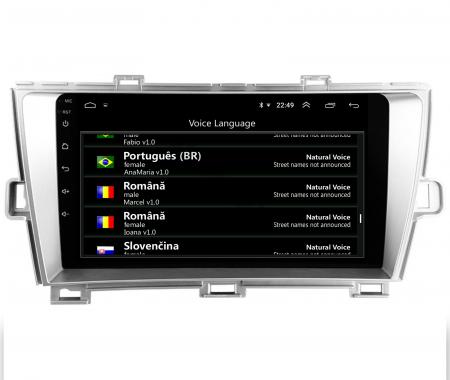 Navigatie Toyota Prius (2009-2014), Android 9.1, QUADCORE|MTK| / 2GB RAM + 32GB ROM, 9 Inch - AD-BGPPRS1MTK2GB4