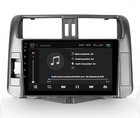 Navigatie Toyota Land Cruiser (2009-2016), Android 9.1, QUADCORE|MTK| / 1GB RAM + 16 ROM, 9 Inch - AD-BGPLC09MTK6