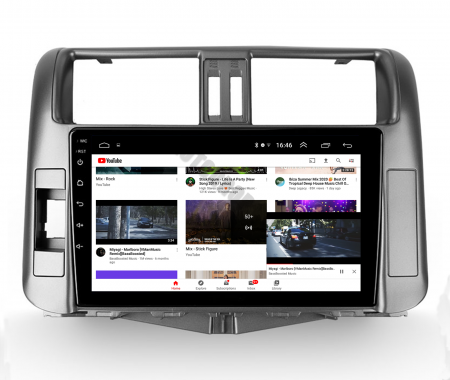 Navigatie Toyota Land Cruiser (2009-2016), Android 9.1, QUADCORE|MTK| / 2GB RAM + 32GB ROM, 9 Inch - AD-BGPLC09MTK2GB13